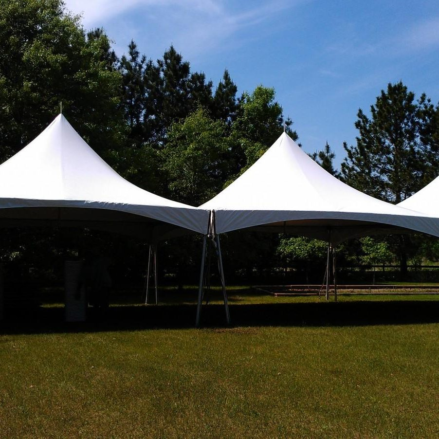 20x60 Marquee tent rental dallas